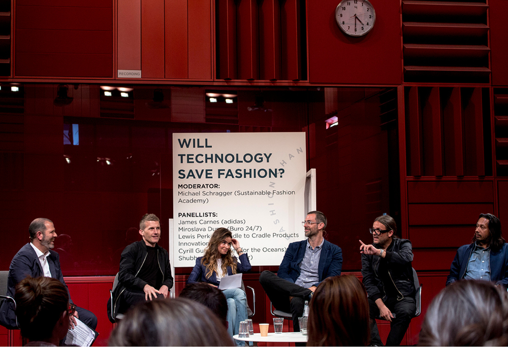"Panel discussion at the Break Out Session: ""Will Technology Save Fashion?"""