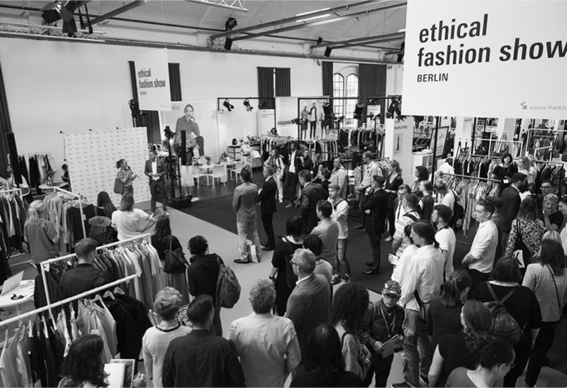 The Ethical Fashion Show in Berlin, exhibition view, JUNI 2016 © PHILLIP ZWANZIG / MESSE FRANKFURT