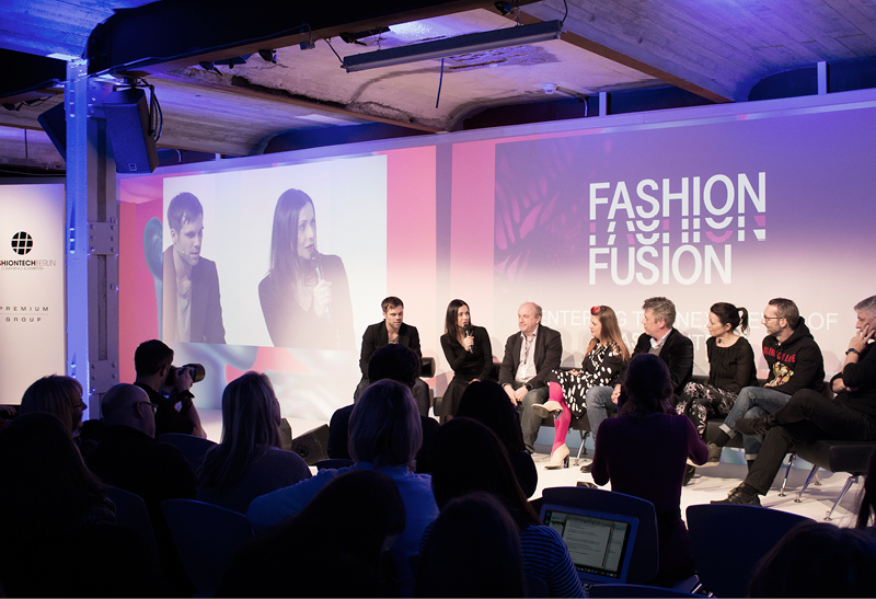 Panel discussion at the   Fashiontech Berlin  conference.