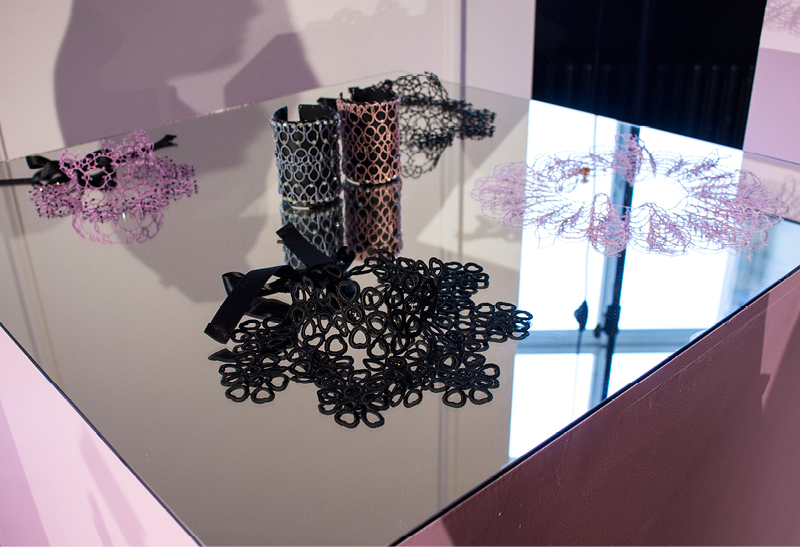 Rita In Palma  : Hand-crocheted jewelry and accessories, made in Berlin, at   Der Berliner Modesalon  .