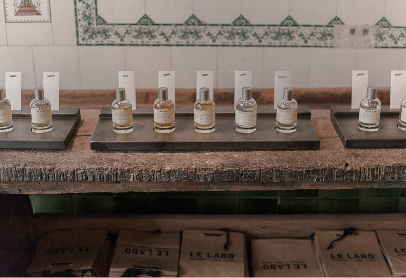 Le Labo  perfumes in Berlin Mitte.