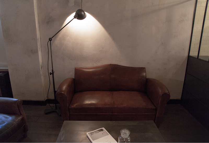 Interior of  Le Labo  in Berlin Mitte.