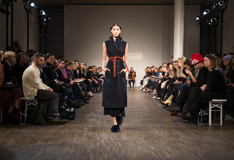 Philomena Zanetti  show at Berlin Fashion Week AW '17