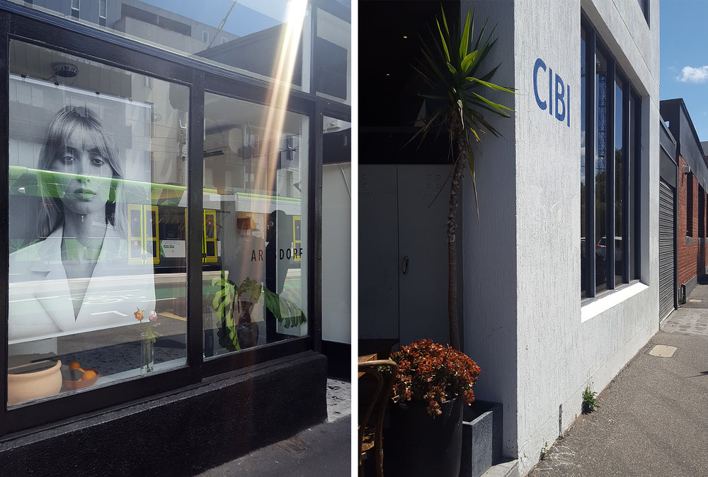 Left: Arnsdorf Store, right: CIBI.