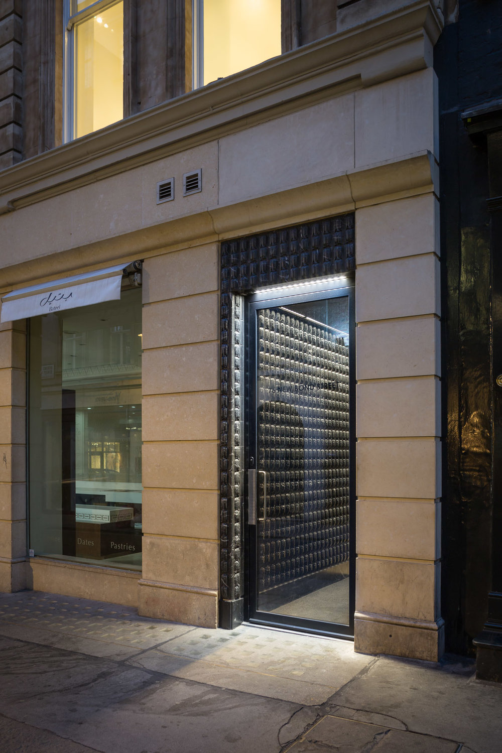 Architectural photography by Ben Tynegate of New Bond Street - Reed Watts Architects