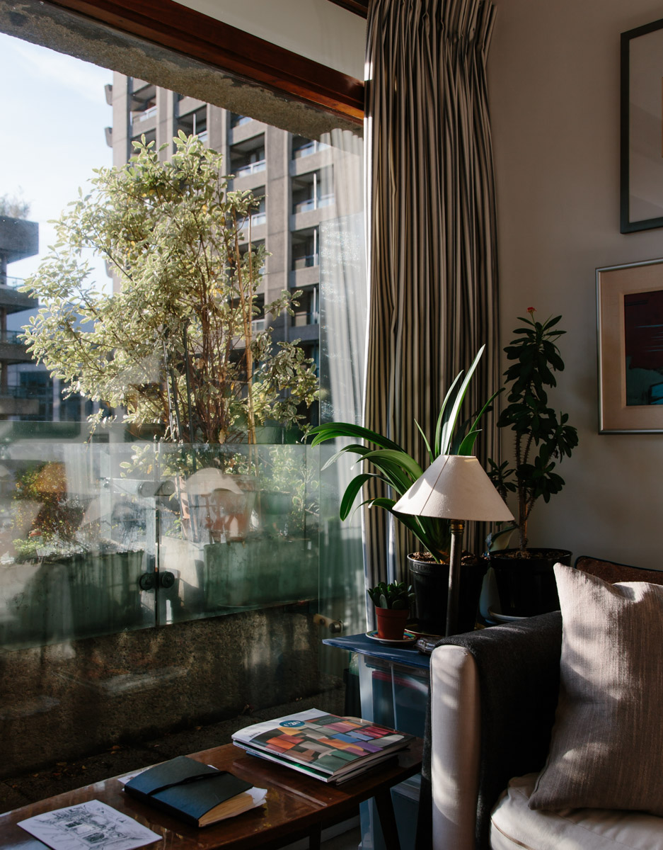 Architectural photography of barbican apartment
