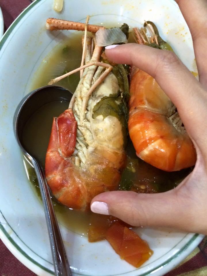 Crayfish (sinigang)!