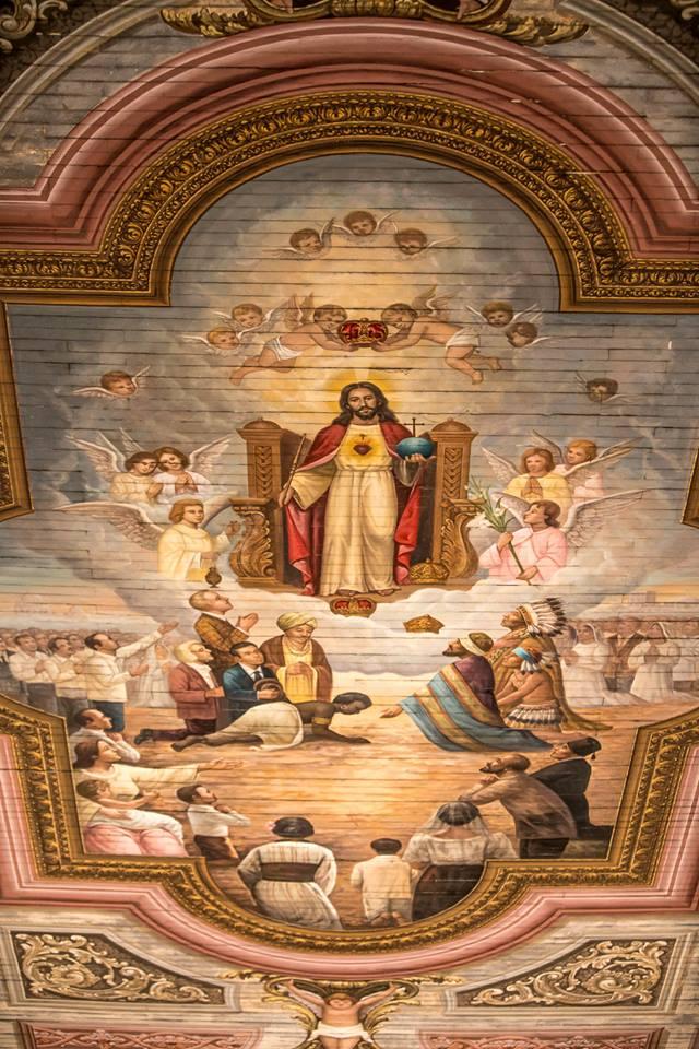 Betis Church ceiling art