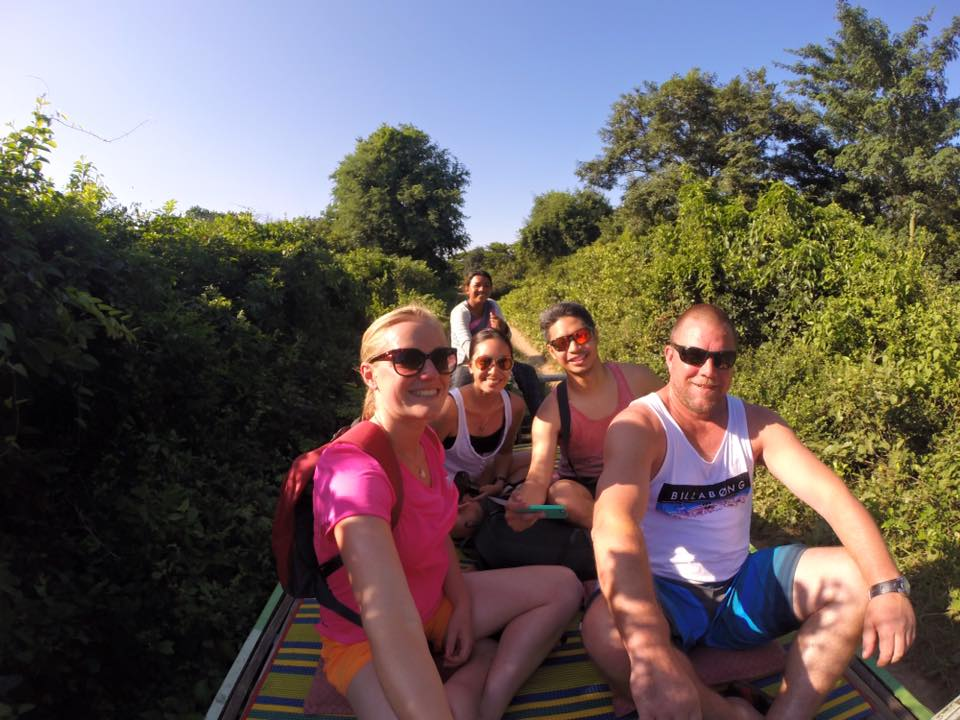 All aboard the Battambang Bamboo Train!