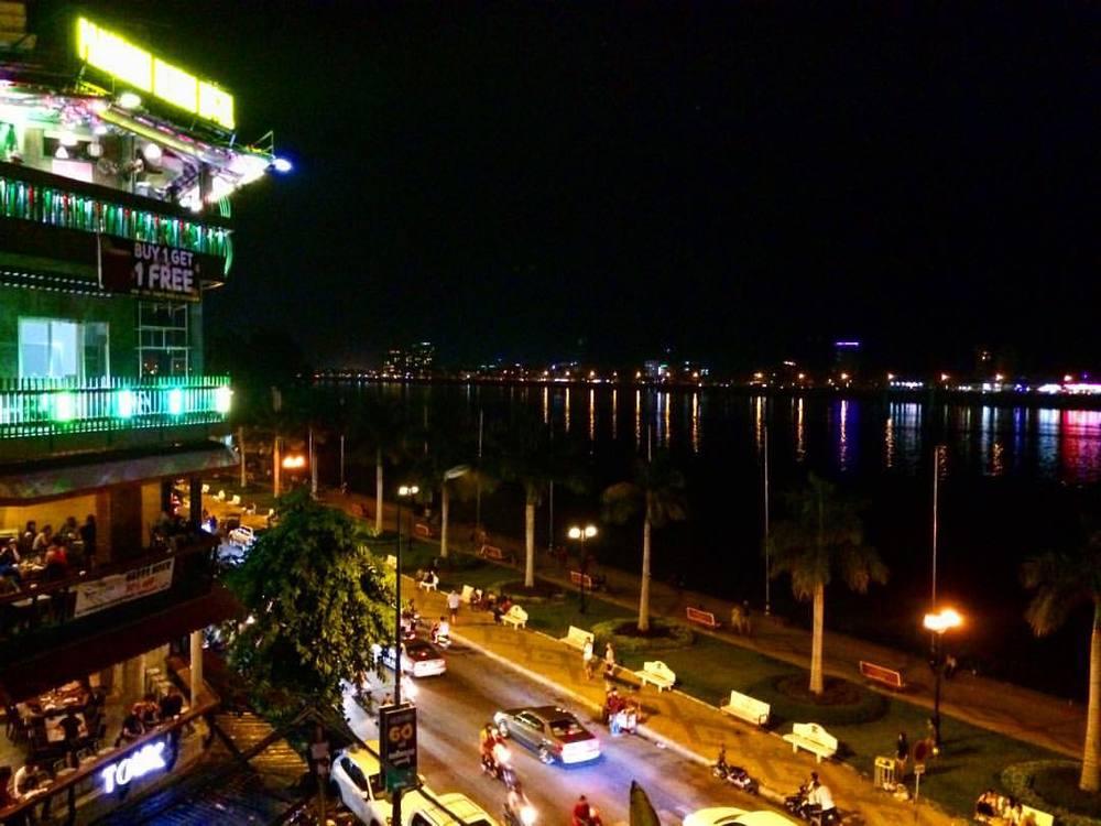 Overlooking Mekong River, Phnom Penh
