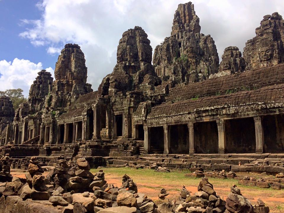 Bayon. Temple of the smiling gods.