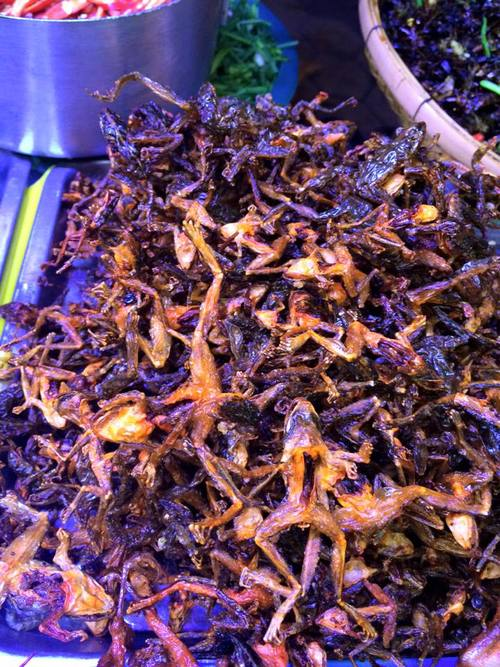 Fried Frogs