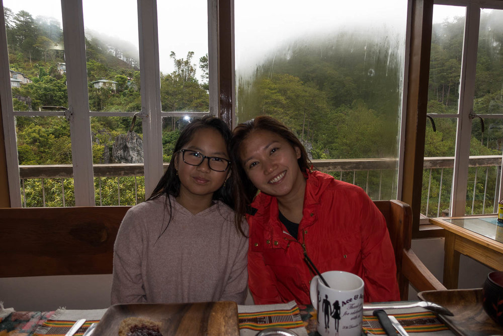 We enjoyed homecooked breakfasts, unlimited brewed mountain coffee and the Echo valley view at Inandako's BnB.