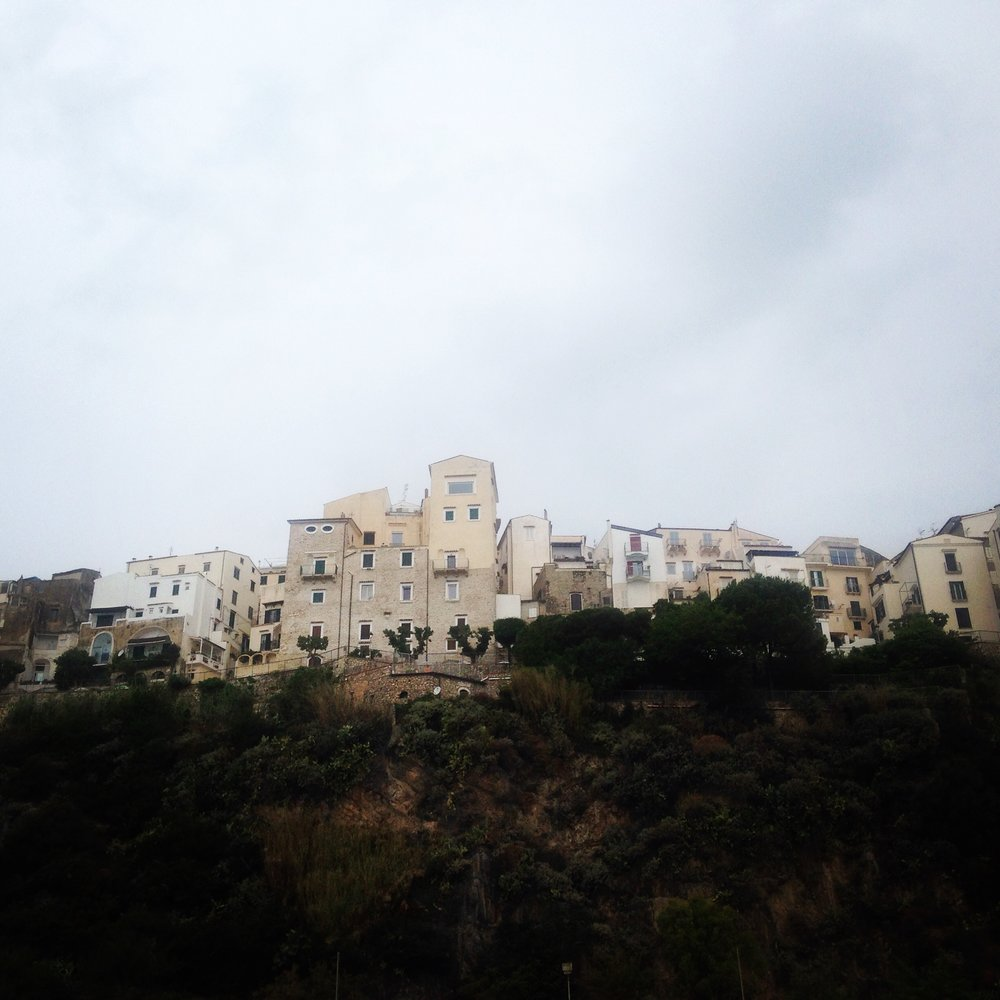 A storm brewing over Sperlonga