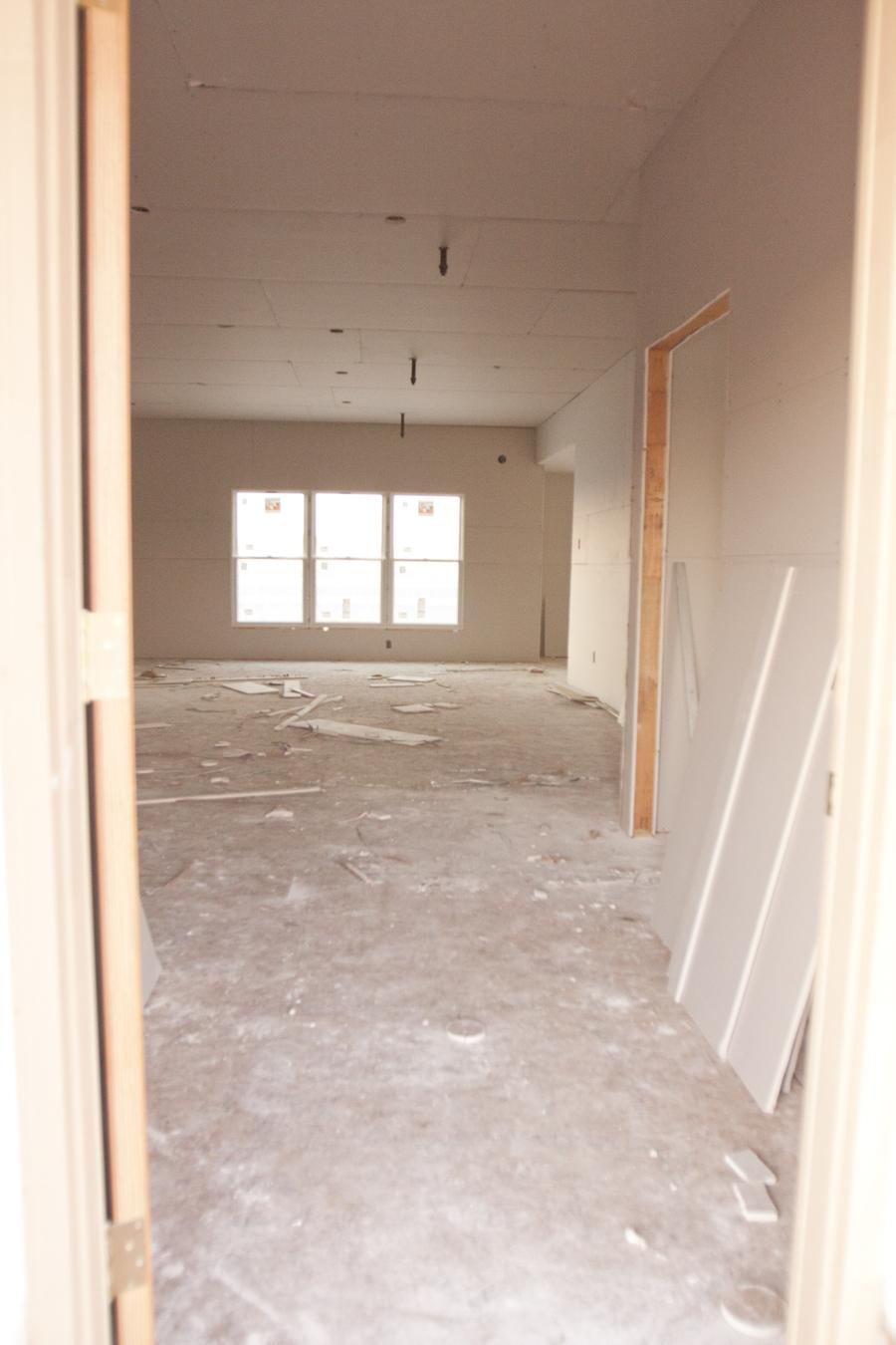 86 interior drywall-1