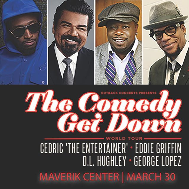 ON SALE NOW: The Comedy Get Down World Tour heads to #SLC on 3/30 at the #MaverikCenter! #CGDTour #SaltLakeCity #Utah