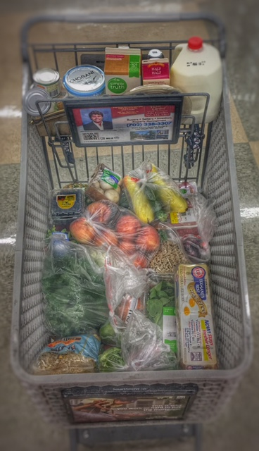 Keep in mind while building your plan... your cart should be filled mostly of fresh produce!