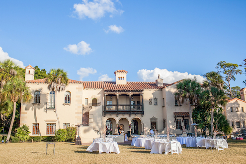 Mediterranean Style Mansion Elopement