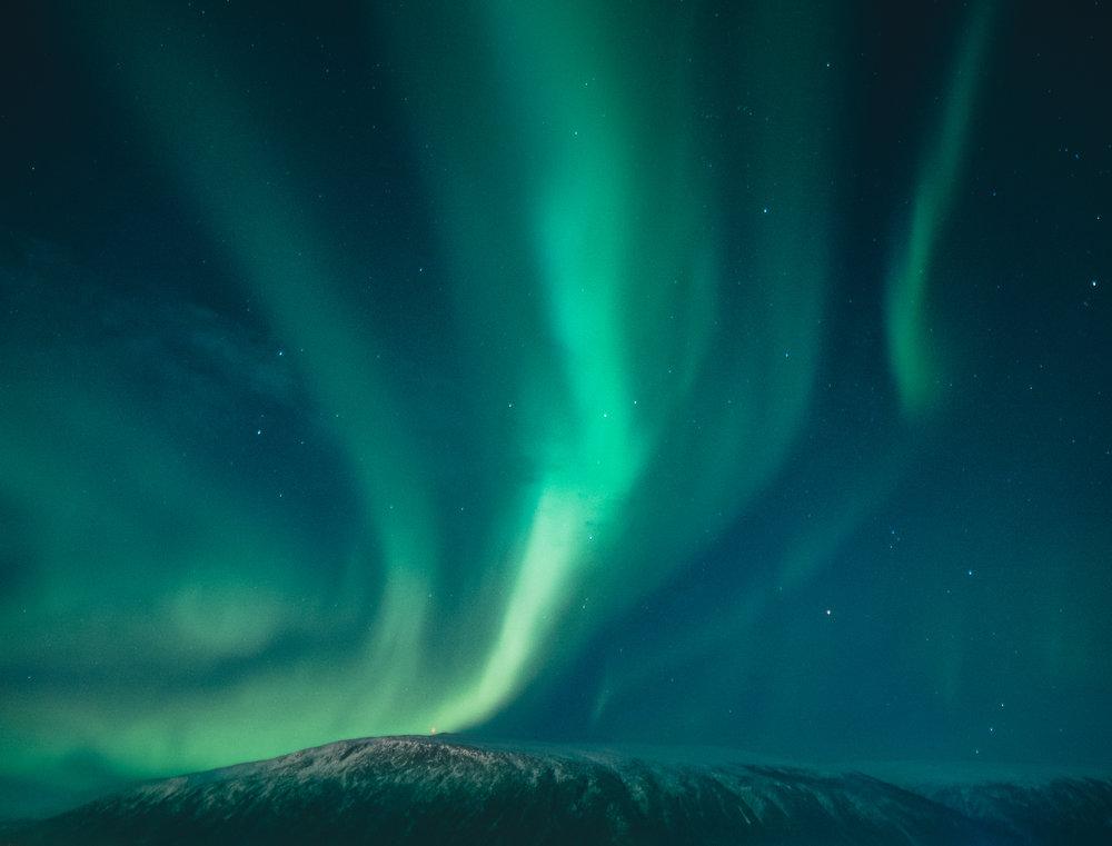 #10 - northern lights hunting