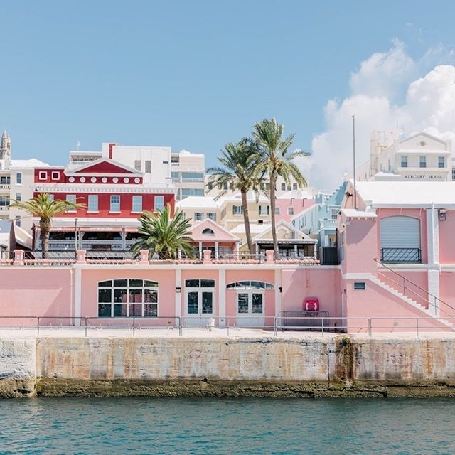 Pastels all around Hamilton! We took this from the public ferry on the last morning in Bermuda and loved seeing all the pinks from the water 💕💕 • • • • • #traveldeeper #travelstoke #tasteintravel #mytinyatlas #tlpicks #bbctravel #dametraveler #lonelyplanet #darlingescapes #doyoutravel #livetravelchannel #cntraveler #travelawesome #traveltheworld #guardiantravelsnaps #instapassport #traveladdict #postcardsfromtheworld #travelandlife #athomeintheworld #travelpics #travelblogger #travelblog #bermuda #passportready #travelphoto #ilovetravel #letsgoeverywhere #travelstroke #igtravel