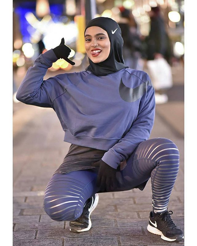 THERE SHE IS!!! 👑👑👑 Our #STRONGsister @_shazfit making history!!! 💪💪💪 .  @Regranned from @_shazfit -  NIKE X SHAZFIT  Honoured to be the first in the UK to rock the Nike Pro Hijab and to be UK's first @Nike Hijab wearing ambassador 😀  The team took time to get to know me and gain an insight on what it's like as a Muslim woman training in hijab, my transition to hijab a couple years ago and the journey leading up to now. They have even preed my clothing line @shathleticsuk before meeting and offered to support our upcoming RELAUNCH before the end of the year!!! 😭  They wanted someone who epitomized North London: attitude, style, drive as well as the influence I've had on the community by simply doing me, and doing so unapologetically 💪🏽 In other words... YESSSSSS FAM!!!! 🙌🏽💥 The ting is officially available online and will be in stores 04/12 - #regrann