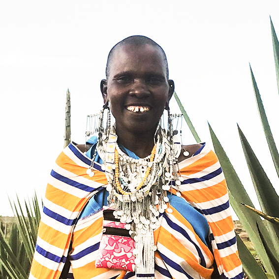 Esther / Lekirumuni Village   Ilmbumbui necklace