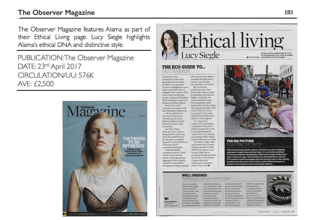 The Observer Magazine, 23 April 2017 .jpg