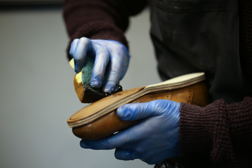 Behind The Factory Gates: Al King Award winning Cobbler Al King shows us the craft behind traditional English shoe repair.  View Gallery