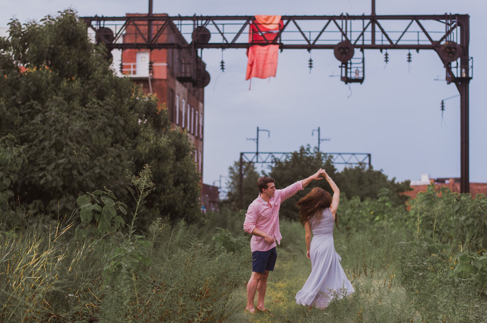 reading viaduct engagement shoot