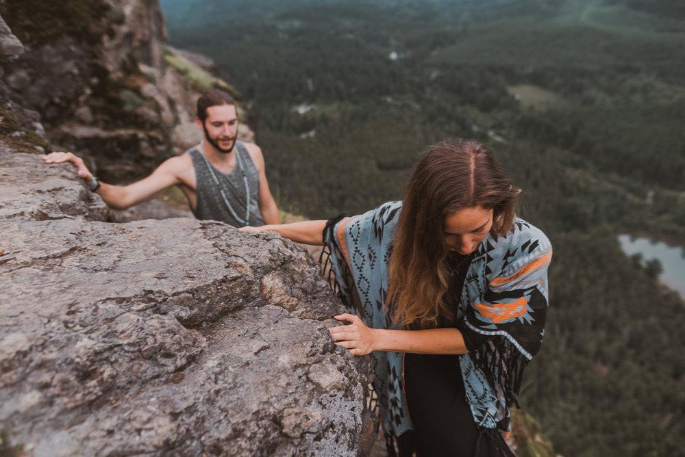 rattlesnake ridge adventure engagement