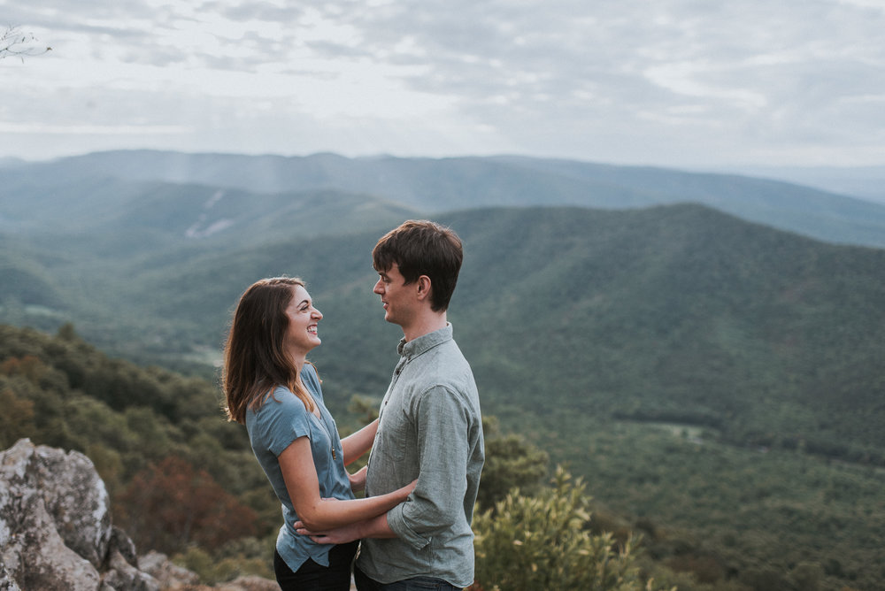 Raven's Roost engagement photographer