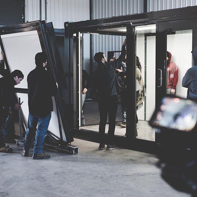 Video shoot - behind the scene