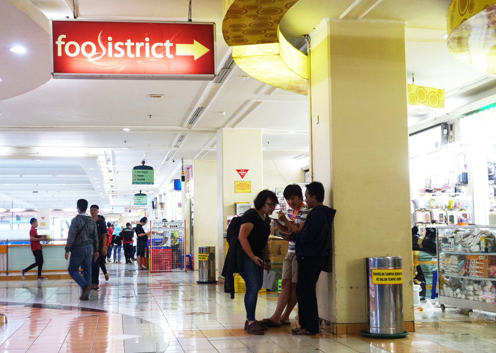 Street intercept in malls to broaden user variety