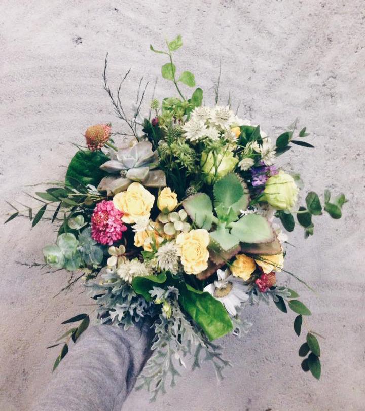 Succulent bouquet -