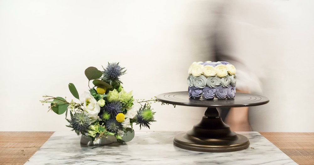 Flower X Cake Workshop -
