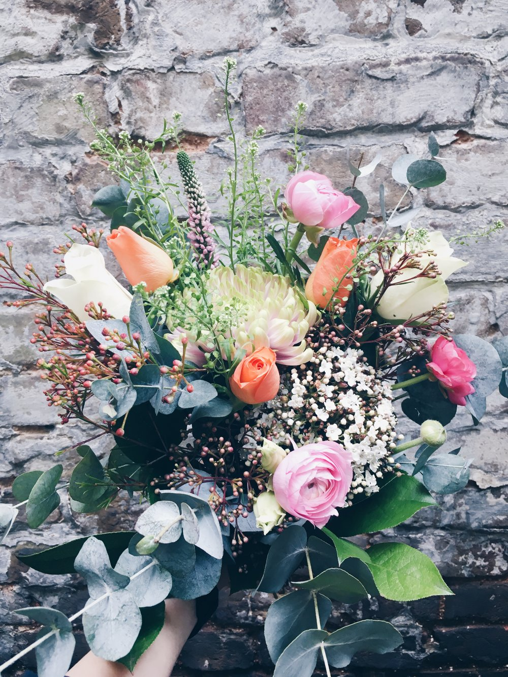 Spring British Garden Bouquet -