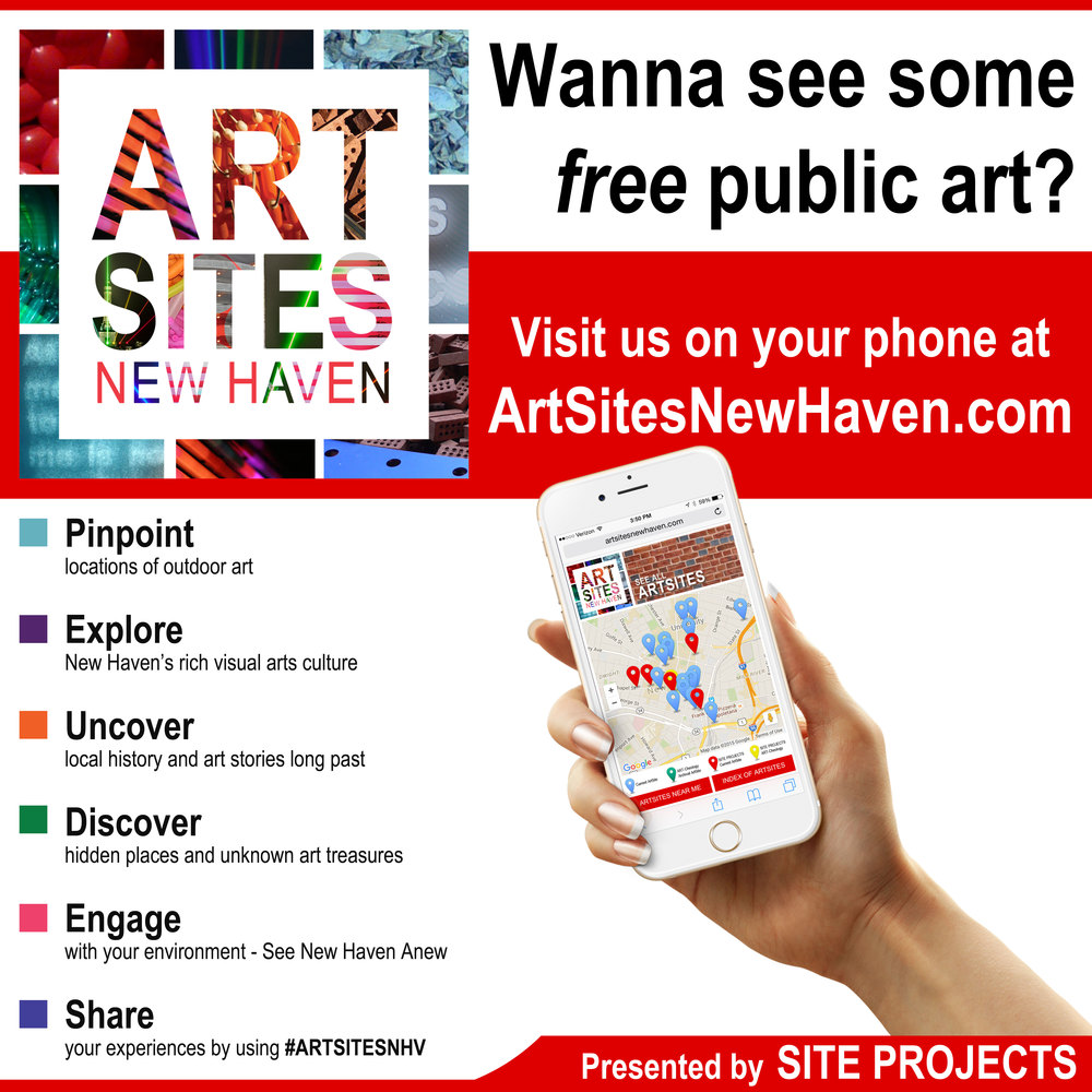 Find Public Art in New Haven