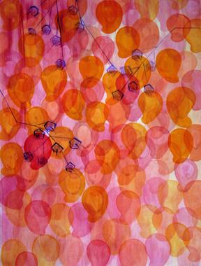 Blossoming Mangos Pink