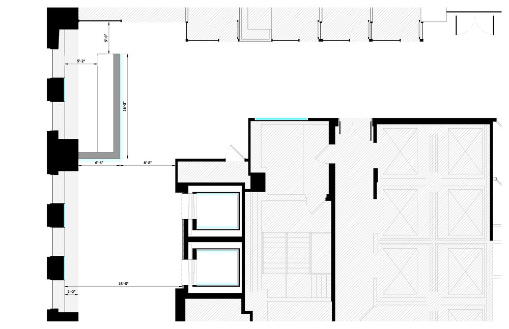 Check-in Floor Plan