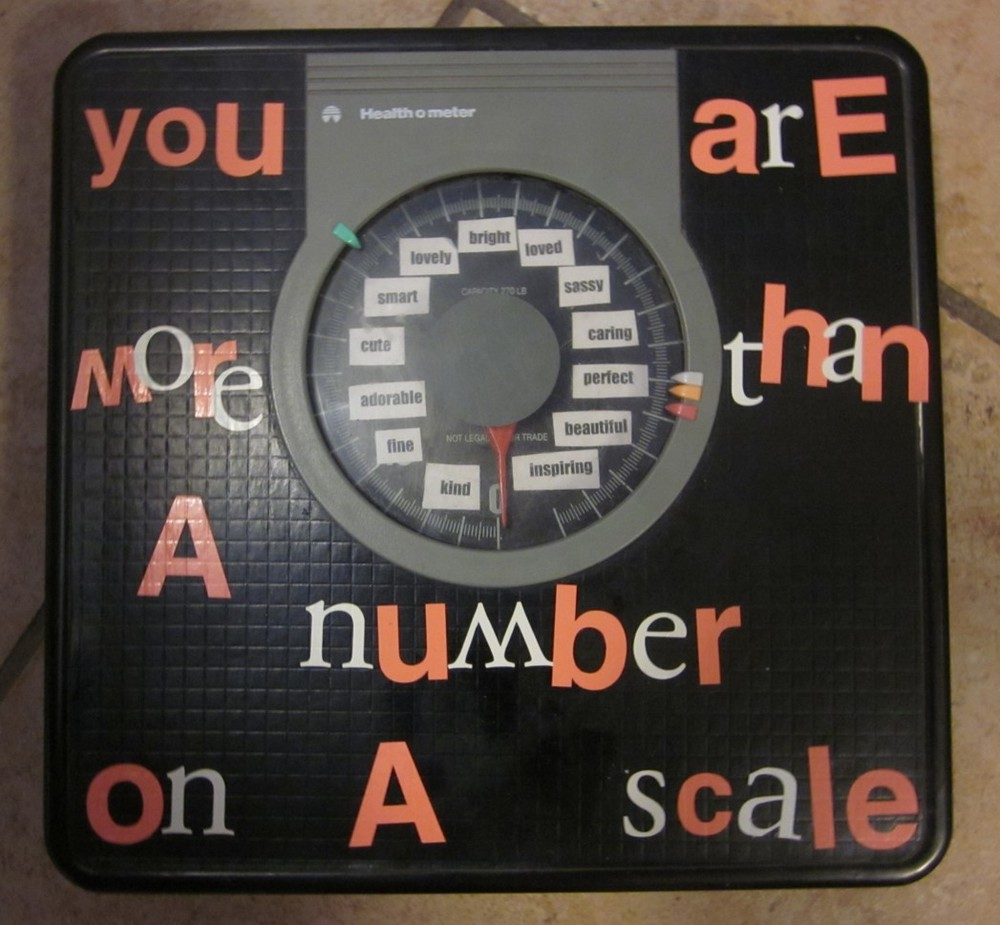 You are more than a number on a scale