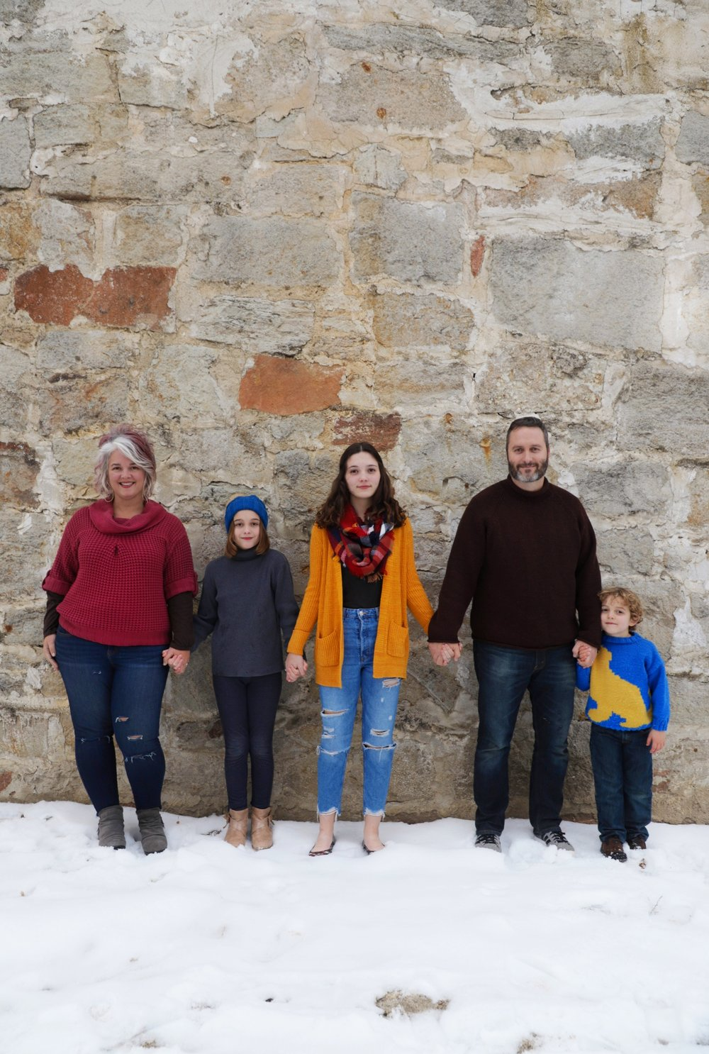 Family photo by  Maike Devon Photography , December 2018