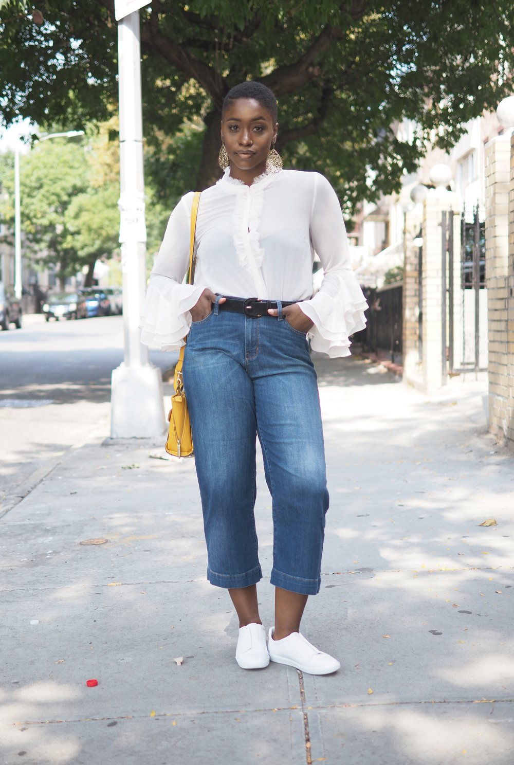 Ruffle top and culottes 8