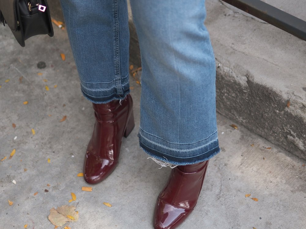 Fall Outfit Bomber Jacket 4