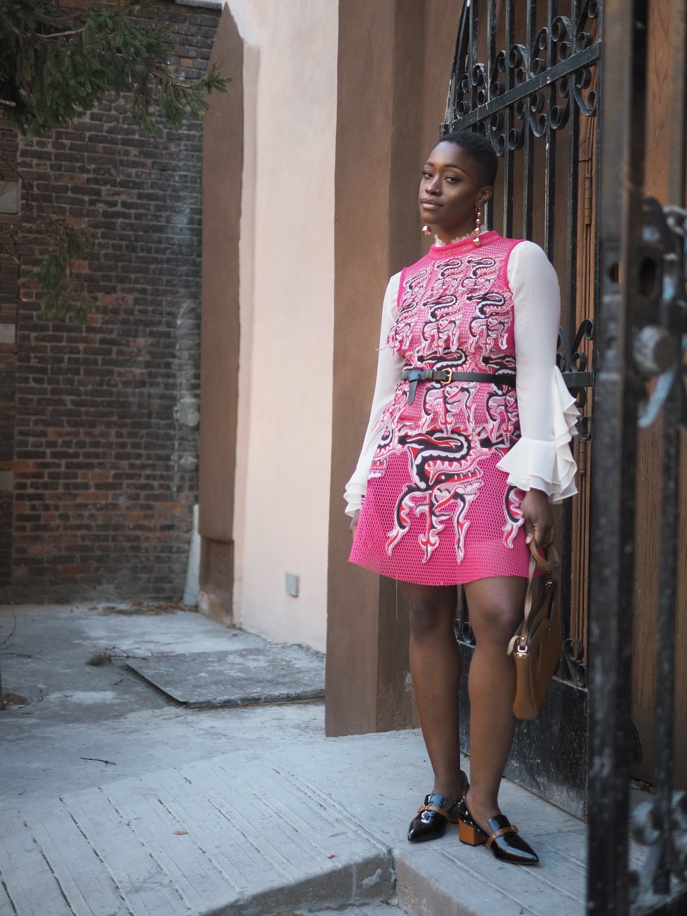 that vivienne tam pink dress 5