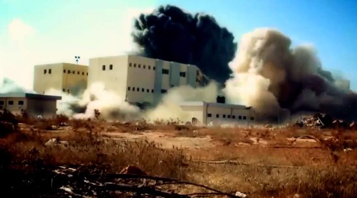 Building Explosion Libya
