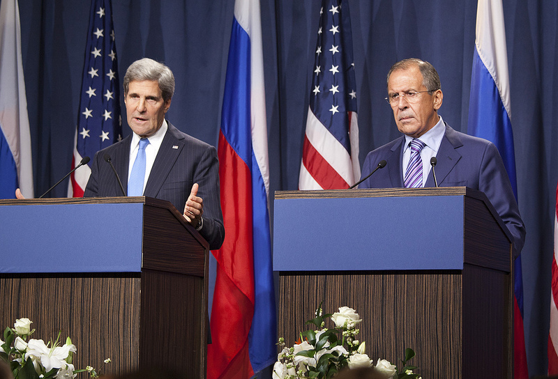 Any negotiated settlement in Syria would need to involve Russia and the US.