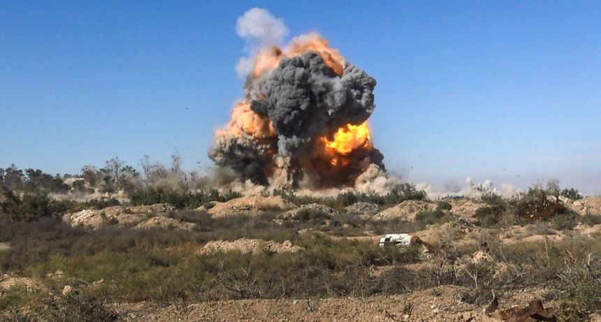 A ISIS SVBIED targets a Syrian regime position in Deir Ez Zour.