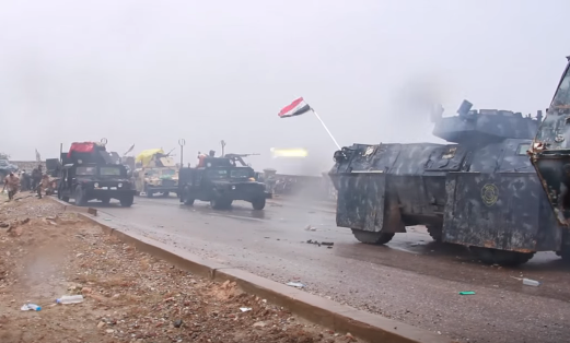 Shia militia form a large component of Iraq's armed forces.