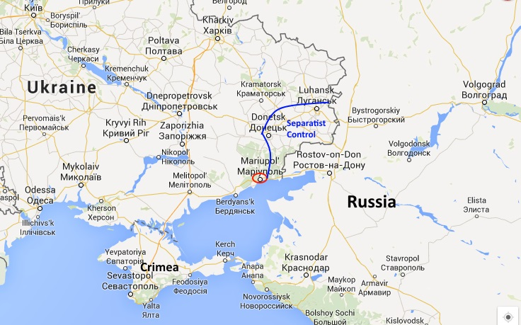 Mariupol Location