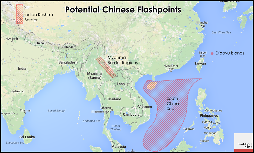 Potential Chinese Flashpoints